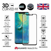 For Huawei Mate 20 Pro Genuine Full 3D Tempered Glass 9H Screen Protector Cover