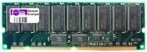 256MB Mitsubishi 168-Pin Buffered ECC Fpm RAM 3.3V Memory Storage MH32V72DATJ-6