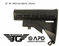 JG M4 Retractable Shoulder Stock Airsoft AEG Adjustable Golden Eagle GE