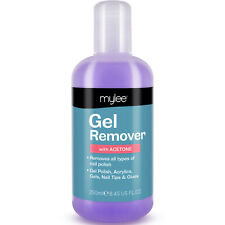 Mylee Gel Polish Remover Acetone UV LED Nail Polish Cleaner Manicure 250ml