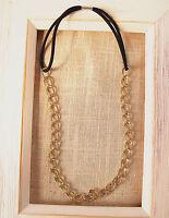 Women Metallic Gold Color Boho Bohemian Party Tassel Hair Head Band Chain Hoop