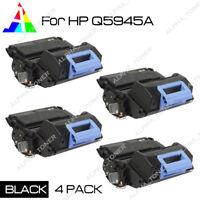 4PK Compatible Q5945A 45A Black Toner For HP LaserJet 4345 4345MFP M4345 M4345xs