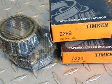 TIMKEN 2788 & 2720 CONE & CUP BEARING