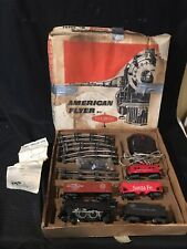 1960 Era American Flyer 20605 Train Set In Box S Scale Complete