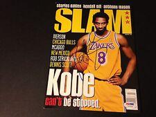 Kobe Bryant Lakers SLAM 1998 Magazine Mag Signed Auto PSA/DNA Letter COA