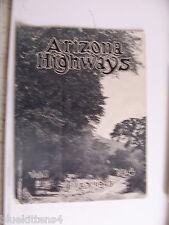 1925 JULY ARIZONA HIGHWAYS MAGAZINE PRESCOTT PHOENIX HWY KIRKLAND CREEK BRIDGE