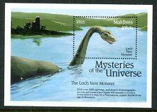 MALDIVES 1992 LOCH NESS MONSTER MINT SOUVENIR SHEET!