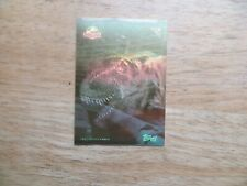 1993 TOPPS JURASSIC PARK T-REX GOLD HOLOGRAM CARD # 1 OF 4