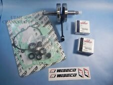 NEW WISECO HONDA CR80 CR85 1987-2004 COMPLETE BOTTOM END REBUILD KIT CRANKSHAFT