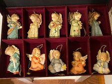 M I Hummel Angels Of Christmas Ornaments Set of 10 -Mib