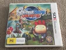 Nintendo 3DS Scribblenauts Unlimited (Rated PG)
