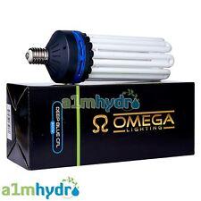 OMEGA CFL 300w Blue Spectrum E40 Socket Grow Light Bulb Hydroponics