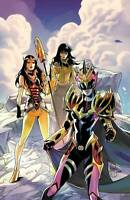 Power Rangers Drakkon New Dawn #2 Dan Mora Virgin Variant 1:10