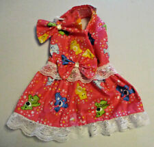 S Dog dress [Care Bears] cotton handmade