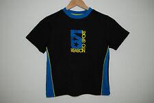C&A Rodeo T-Shirt Kurzarmshirt Sporttrikot Gr. 116 122 128 Sportshirt SCHWARZ