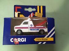 VTG Corgi Junior Police Wrecker 108 Rescue Truck J24 1984 Great Britain! Nos!