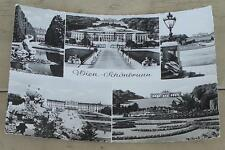 Nice Vintage Black and White Photograph Postcard, Wien Schonbrunn, GOOD COND