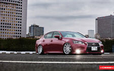 "LEXUS GS VOSSEN WHEELS A4 POSTER GLOSS PRINT LAMINATED 11.7"" x 7.3"""