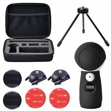 Holaca Silicone Case Tripod Bag Kit for Samsung Gear 360 2017 Edition Camera