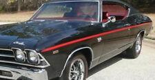 1969 Chevrolet Chevelle SS396 Factory Longitudinal Red Tape Stripe Kit NEW