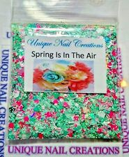 Limited Edition Glitter Mix~SPRING IS IN THE AIR* Comes With Alloy~ Nail Art