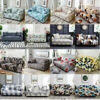 4 Seater Stretch Sofa Cover Couch Lounge Recliner Slipcover Loveseat Protector