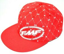 FMF Hat Flex Fit Large X-Large L XL Flying Machine Factory Hat Red Black Rare