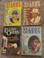Ellery Queen Magazine, Lot of 4 - Jul 1978, Dec 1978, Feb 1979, Aug 1982 (ct50)