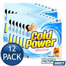 12 x COLD POWER LAUNDRY POWDER FRONT TOP LOADER SENSITIVE ALMOND MILK CLEAN 2kg