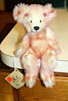 Mohair Bear THREADBEARS Rosa HANDMADE by JACQUIE POLLITT LIMITED EDITION OOAK