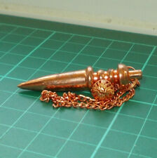 *Auction Copper Plated Point Metal Dowsing Pendulum