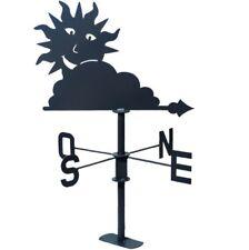 Girouette Soleil Nuage Louis Moulin®  Finition gris ardoise
