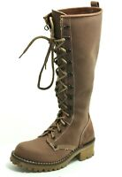298 Chaussures Femme Chaussures à Lacets Bottes en Cuir Levi's 36