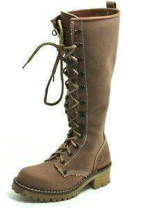 298 Damenschuhe Schnürschuhe Schnürstiefel Stiefel Leder Boots Levi's 39