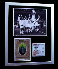 LEEDS UNITED 1972 FA CUP FINAL LIMITED Numbered FRAMED+EXPRESS GLOBAL SHIPPING