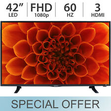 "Seiki 42"" Inch 1080p FULL HD Smart 60Hz LED TV w/ 3 HDMI & USB SE42FYP1T - NEW"