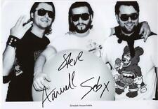 SWEDISH HOUSE MAFIA AUTOGRAPHED SIGNED A4 PP POSTER PHOTO