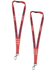 Patriotic Keep America Great Lanyard Keychain Name Badge Holder to Compliment An
