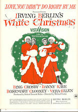 "White Christmas ""Love You Didn't Do Right By Me"" Bing Crosby Vera Ellen"