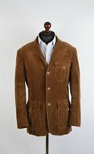 Polo Ralph Lauren Brown Corduroy Blazer Style Jacket Size Medium VGC