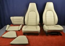 Porsche 911 Carrera 3.2 964 Linen Leather Seats Comfort Front & Rear 1985-94