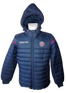 Macron Hajduk Split Bomberjacke Jacke, marine, Gr. M, 58029527