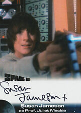 Space 1999 Autograph Trading Card SJ2 Susan Jameson as Prof. Juliet Mackie