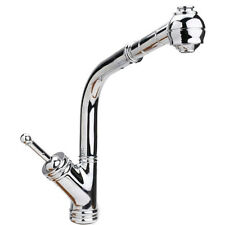 Hamat Christina 3-2866 Tall Spout Pull Out Kitchen Faucet Stainless Steel Finish