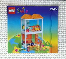 Lego Original Bauanleitung für Scala 3149 Happy Home Neu