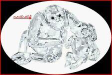 Swarovski® Crystal Retired  CHIMPANZEE MOTHER & BABY 5063689 ARTIST SIGNED BNIB