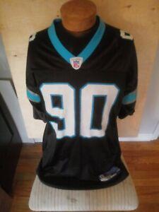 Julius Peppers #90 Carolina Panthers NFL Reebok Black L Football Jersey