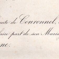 André De Couronnel 1867 Marie De Béthune-Hesdigneul