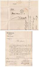 B291) ROMAGNE 1860 BOLOGNA BAZZANO SERRAVALLE.