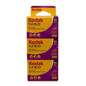 Kodak Gold 200 35mm 36 Exposure Pack of 3